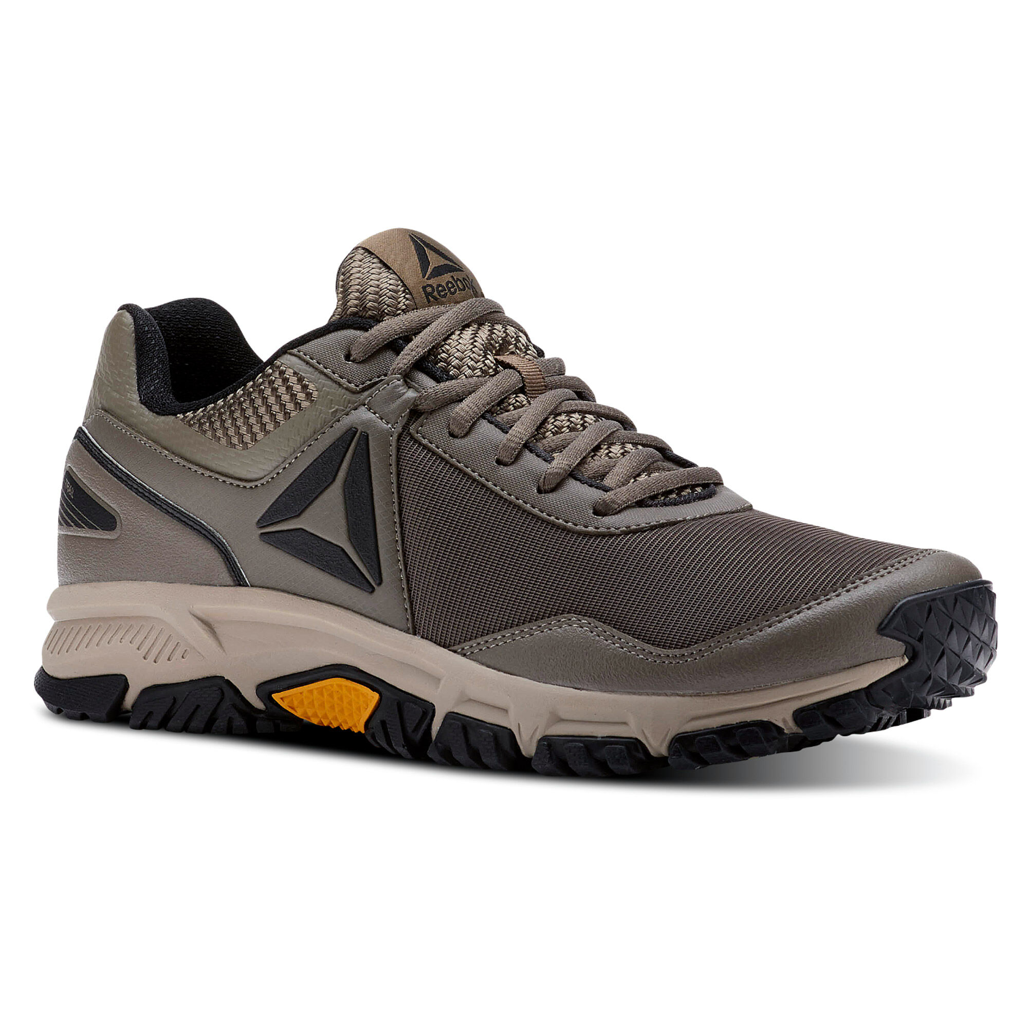 Reebok RIDGERIDER TRAIL 3.0 - Trail running shoes - grey/khaki/coal/gold zY23QePb