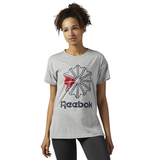 Reebok - Reebok Classics Tee Medium Grey Heather BQ2524