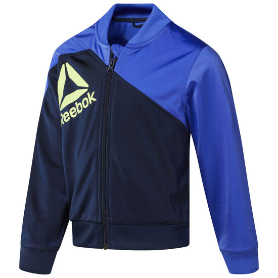 Reebok - Boy's Workout Ready Tracksuit Acid Blue/Collegiate Navy CG0276