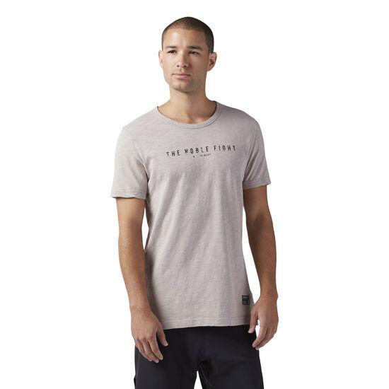 Reebok - Noble Fight T-Shirt Powder Grey CD4218