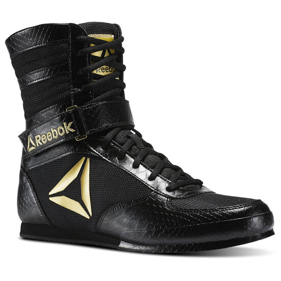 Reebok - Reebok Boxing Boots Black/Gold CN5079