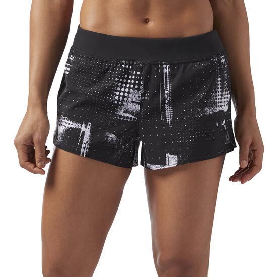 Reebok - 3in Woven Shorts Black/White CF5858