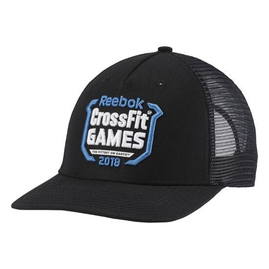 Reebok - Reebok CrossFit Trucker Cap - Games Black DN1518