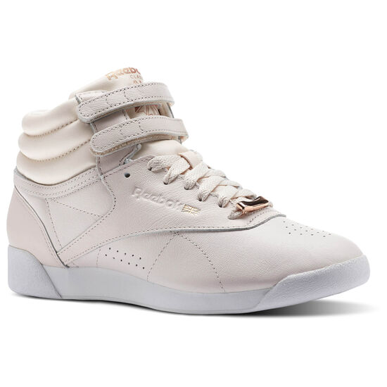 Reebok - Freestyle HI MUTED Pale Pink/White/Cool Shadow CN1495