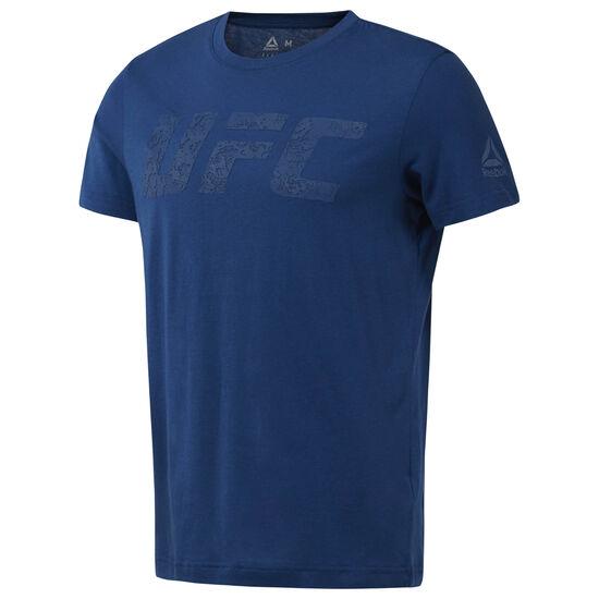 Reebok - UFC Logo Tee Bunker Blue D95023
