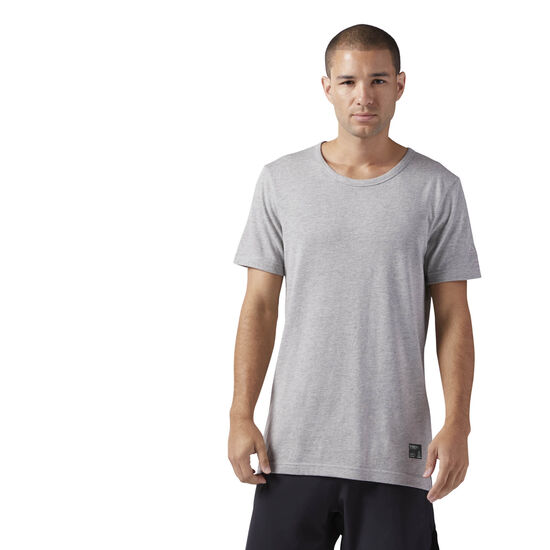 Reebok - Noble Fight T-Shirt Medium Grey Heather CD4220