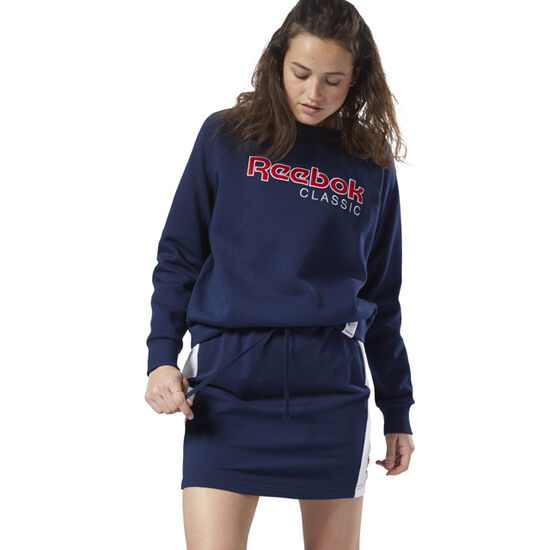 Reebok - Reebok Classics Jersey Skirt Collegiate Navy / White DH1353