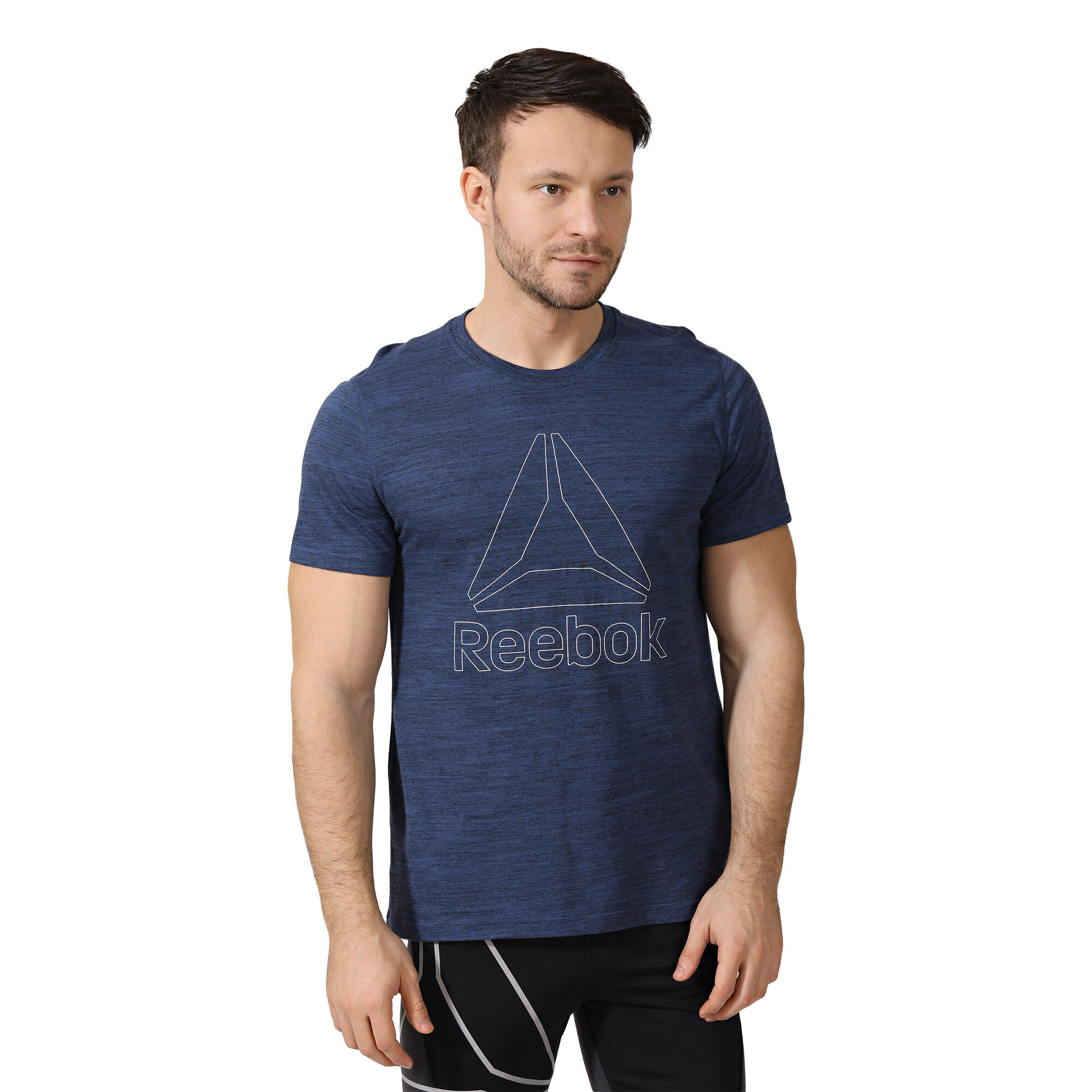 Reebok - Marble Melange Tee Washed Blue CD5519