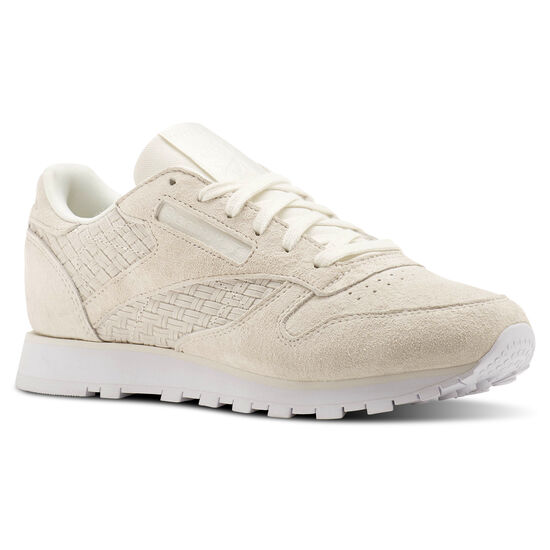 Reebok - Classic Leather Woven EMB Beige/Chalk/White BT0006