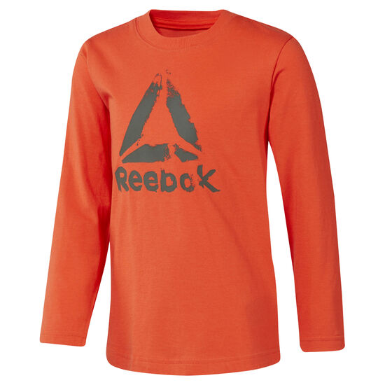 Reebok - Boys Training Essentials Longsleeve Carotene DH4346
