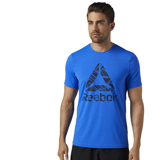 Reebok - Workout Ready ACTIVCHILL Graphic Tee Vital Blue BQ3855