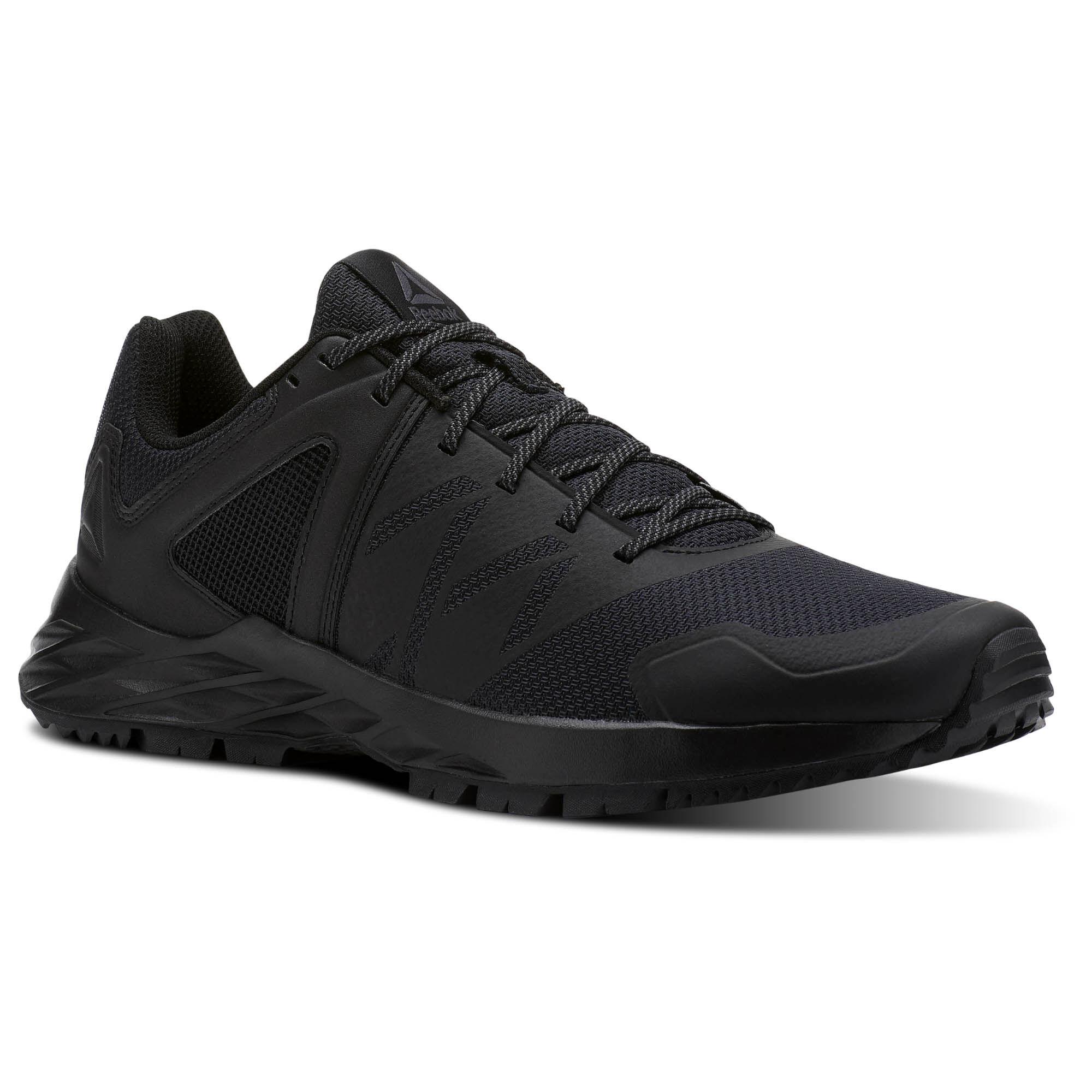 Reebok SAWCUT GTX 6.0 - Trail running shoes - Black/Ash Grey/Primal Red Jdyvm