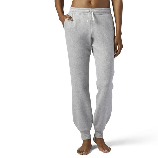 Training Essentials Fleece Sweatpants Medium Grey Heather BS4148