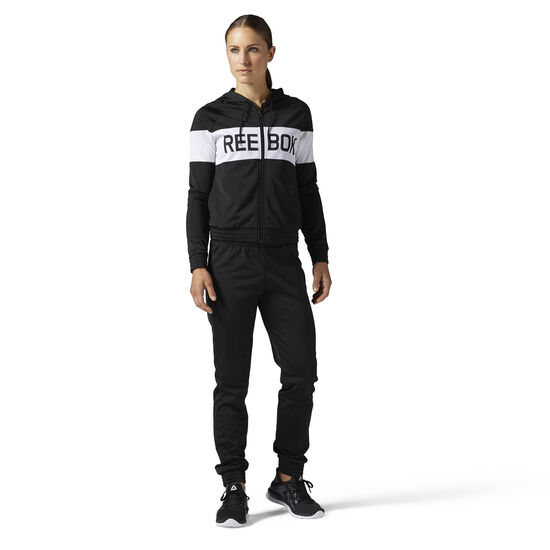 Reebok - Training Essentials Tricot Tracksuit Black/Black BQ2713