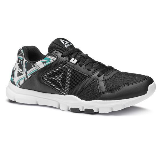 Reebok - Yourflex Trainette 10 MT Black/White/Solid Teal CN2766