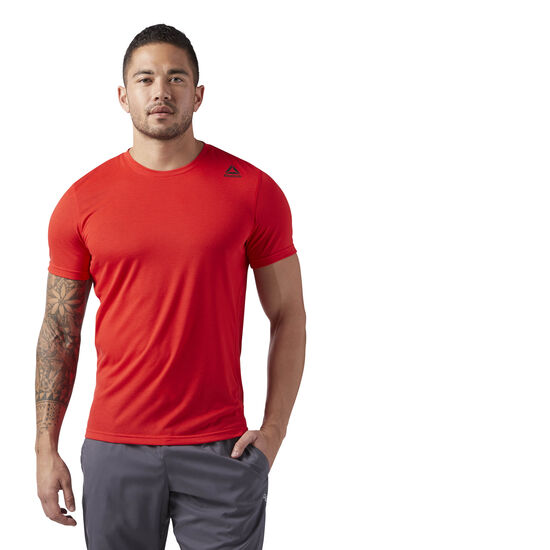 Reebok - Workout Ready Supremium 2.0 Tee Primal Red BK6305