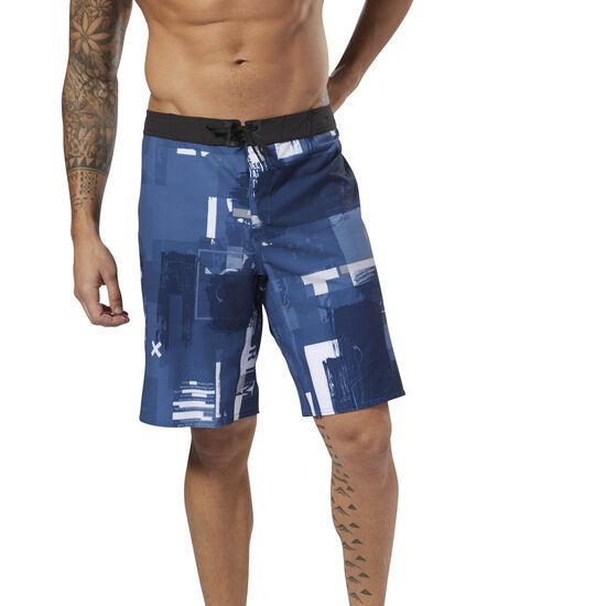 Reebok - Reebok EPIC Cordlock Shorts - Digital CrossFit Bunker Blue DM5653