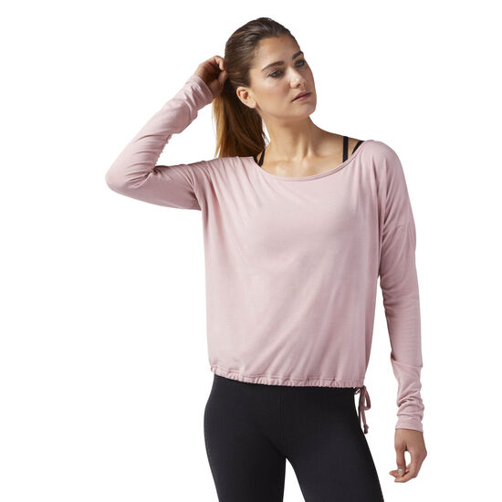 Reebok - Nature X Long Sleeve T-Shirt Chalk Pink CF8742