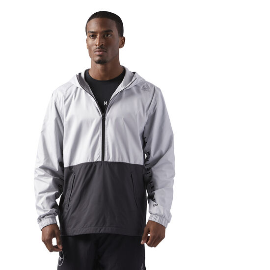 Reebok - LES MILLS ACTIVCHILL JACKET Multicolor/Black/Skull Grey CD6181