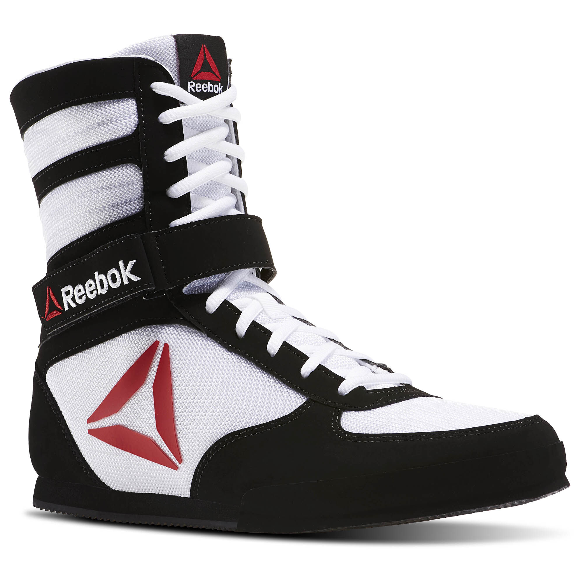 black and gold reebok boxing boots
