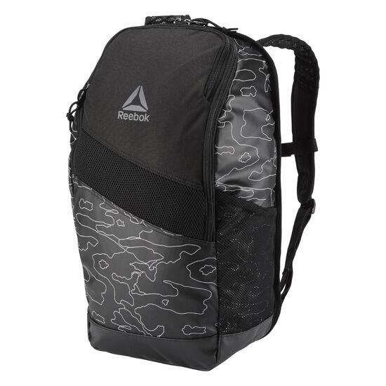 Reebok - Active Enhanced Graphic Backpack 24L Black CZ9809