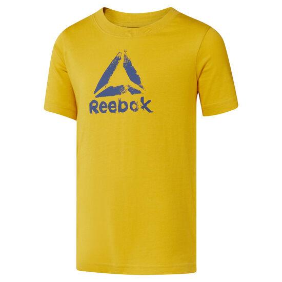 Reebok - Boys Training Essentials T-Shirt Basic Fierce Gold DH4352