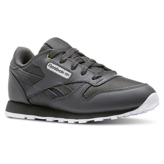 Reebok - CLASSIC LEATHER Mc-Marble/Stealth/White CN5161