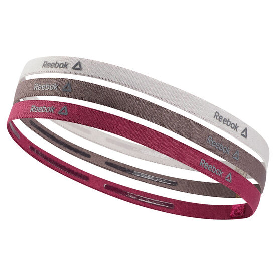 Reebok - Reebok ONE Series Thin Headbands Lavender Luck / Almost Grey / Twisted Berry D67928