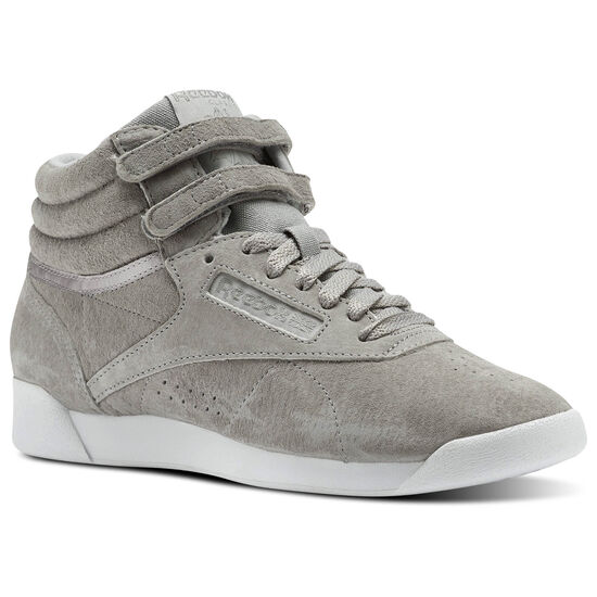 Reebok - Freestyle HI NBK Powder Grey/White CN0606