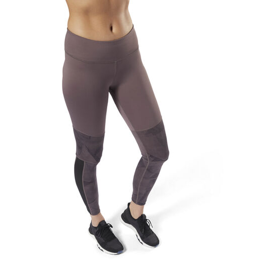 Reebok - Colour blocked Leggings Almost Grey D95069