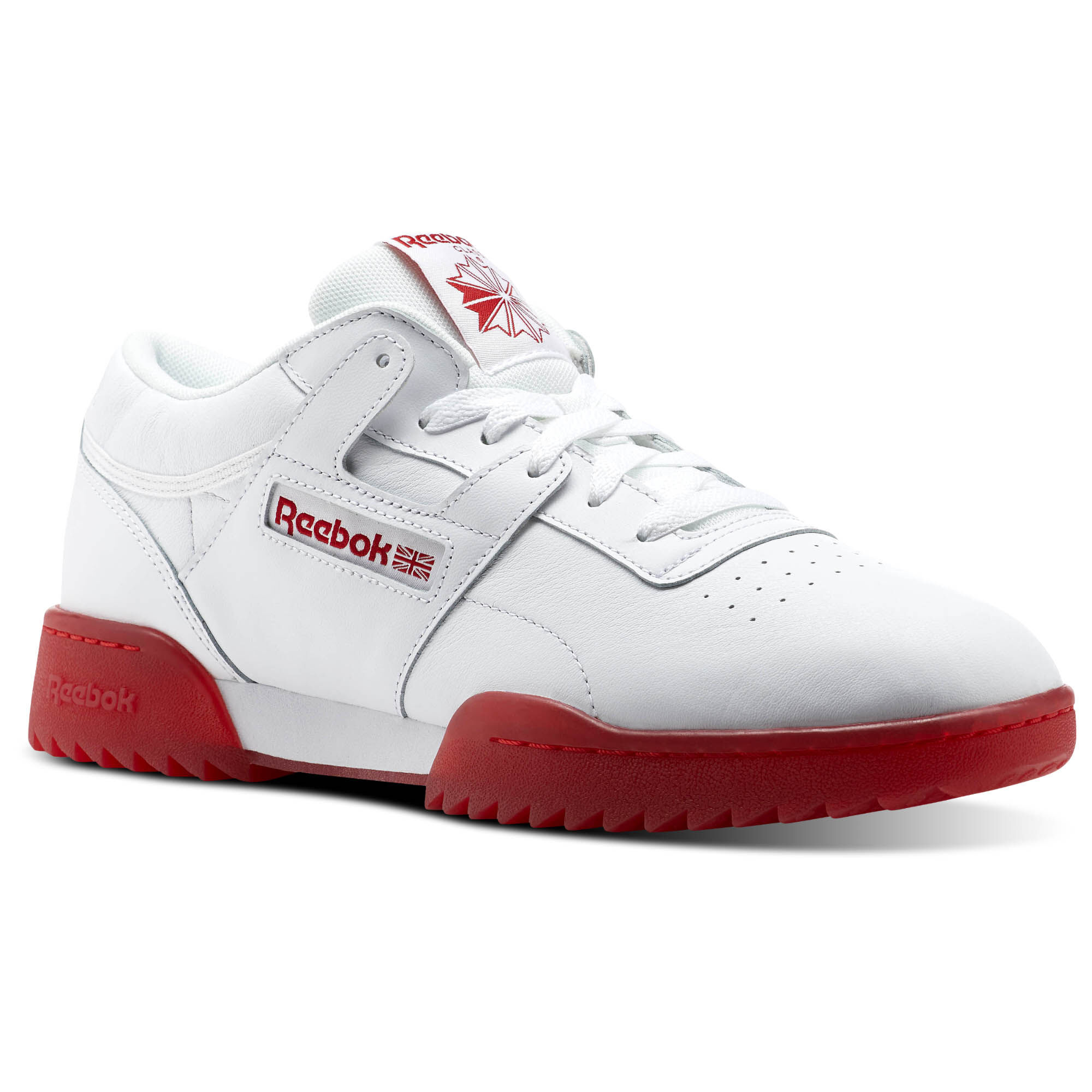 Reebok - Workout Clean Ripple Ice White/Primal Red-Ice CN0643. Read all 3  reviews. Men Classics