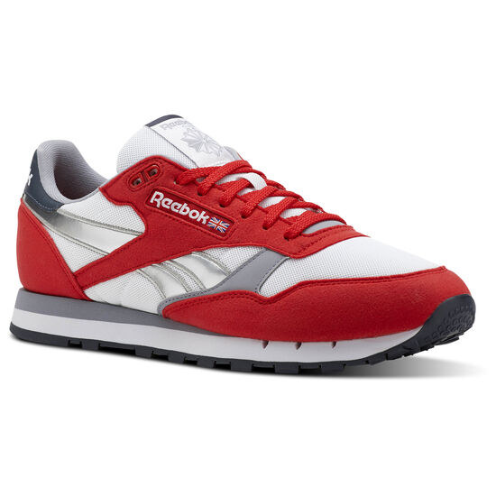 Reebok - Classic Leather Primal Red/White/Cool Shadow/Grpahite/Silver CN3778