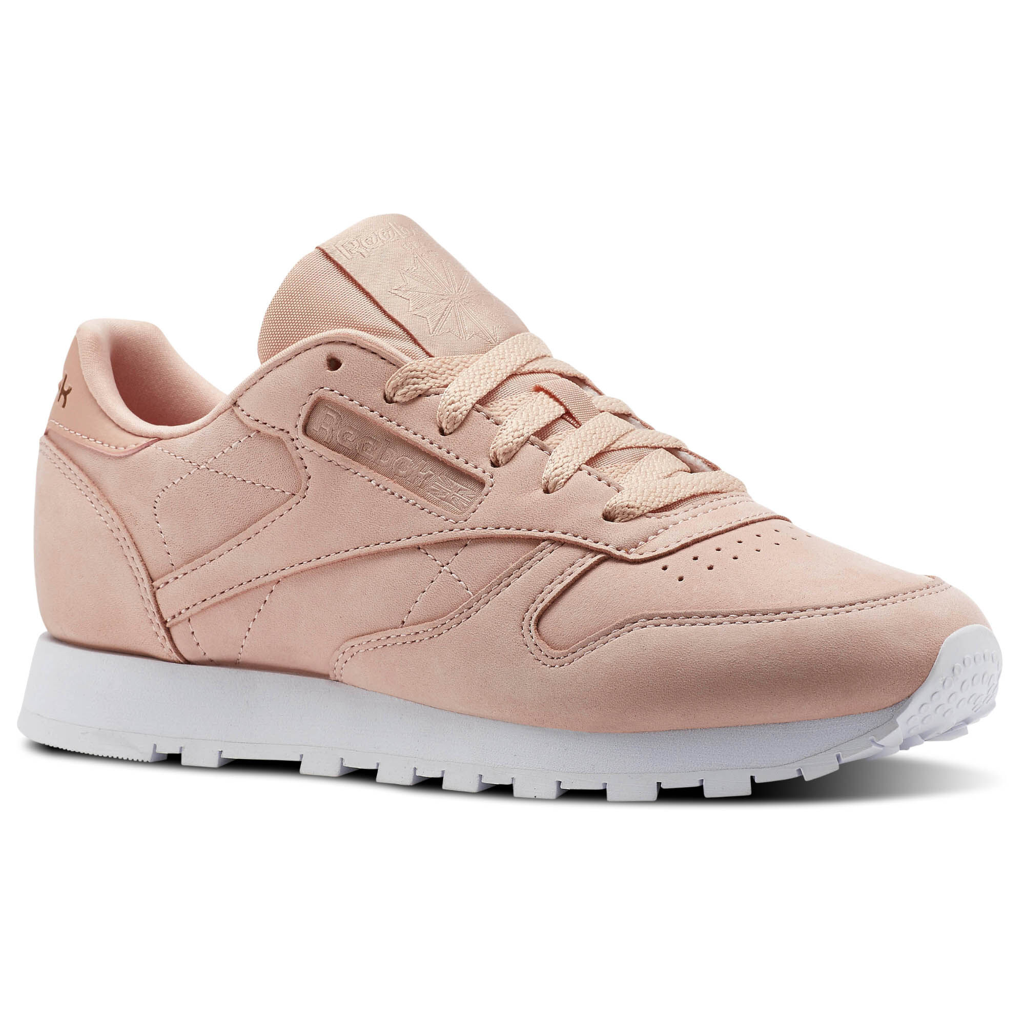 Womens Classic Nubuck & Leather Sneakers Reebok kAm18LY