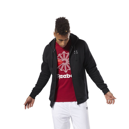 Reebok - Classics F Full Zip Hoodie - international Black DH2090