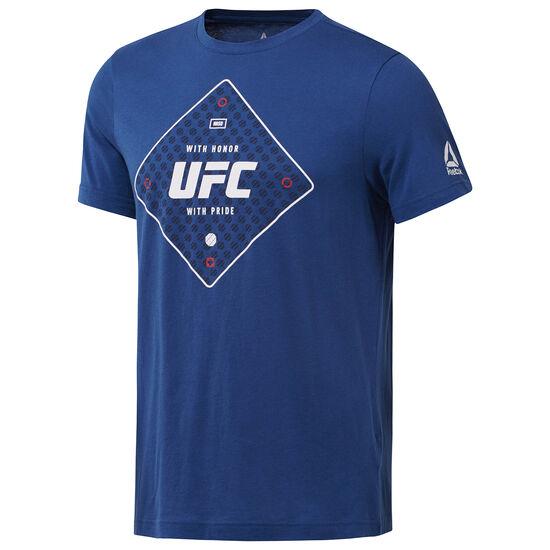 Reebok - UFC Text Tee Bunker Blue D95024