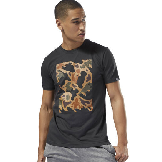 Reebok - GS Training Camo Tee Coal DH3791