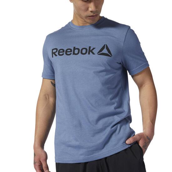 Reebok - Reebok Linear Read Tee Blue Slate DH3785