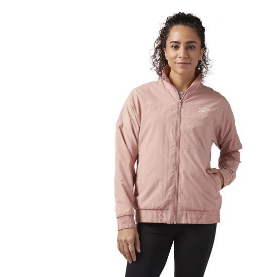 Reebok - Reebok Classics Logo Jacket Chalk Pink CF3965
