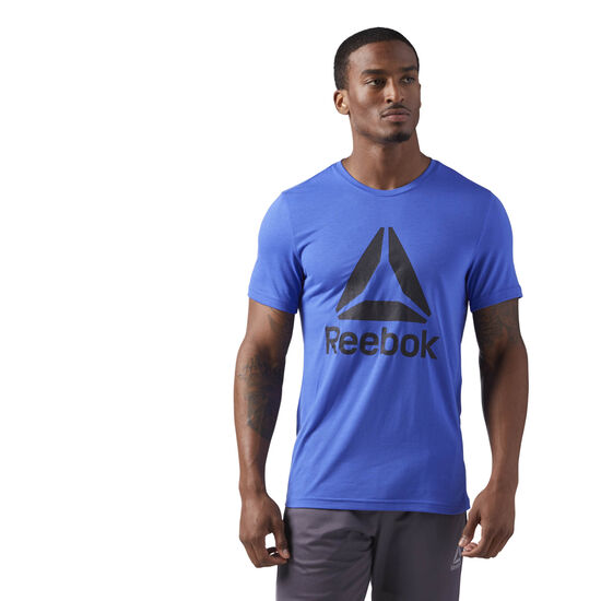 Reebok - Workout Ready Supremium 2.0 Tee Acid Blue CE3846