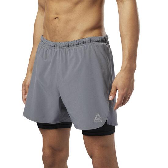 Reebok - Running 2-in-1 Shorts Shark D92946
