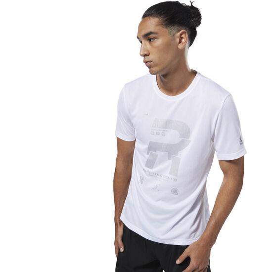 Reebok - Running Reflective Tee White D92943