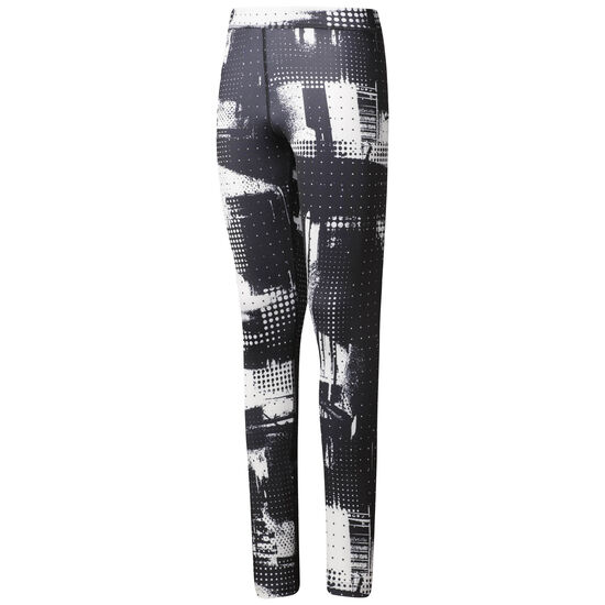 Reebok - Girl Squad Urban Grid Leggings Black CF9422