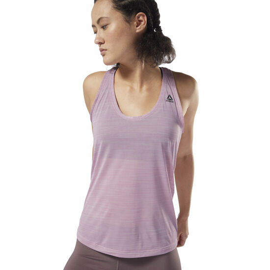 Reebok - Workout Ready ACTIVChill Tank Infused Lilac D95084