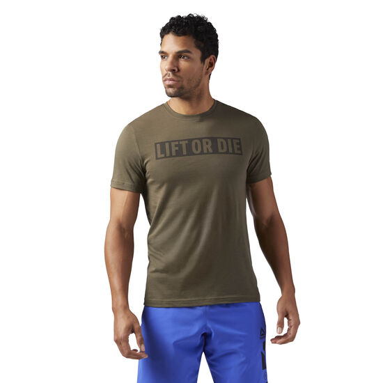 Reebok - Lift or Die' Tee Army Green CF3890