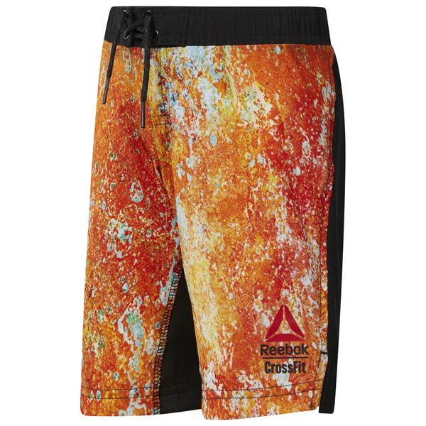 Reebok CrossFit Boy's Shorts Orange CF2706
