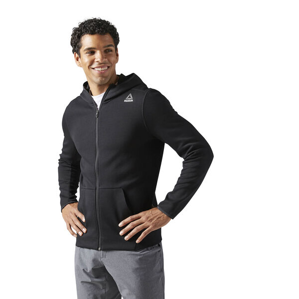 Quik Cotton Full Zip Hoodie Black BP7151