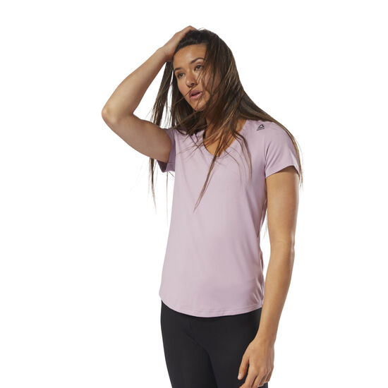 Reebok - Workout Ready Speedwick Tee Infused Lilac D95074