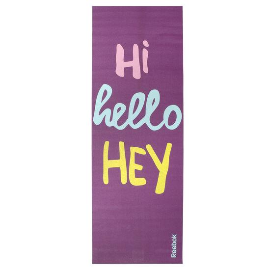 Reebok - Hello 2 Sided Yoga mat Purple AN8016