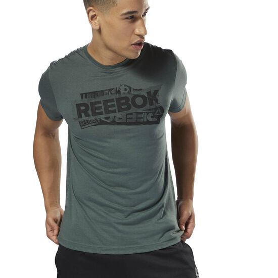 Reebok - GS Reebok Decal Tee Chalk Green DH3788