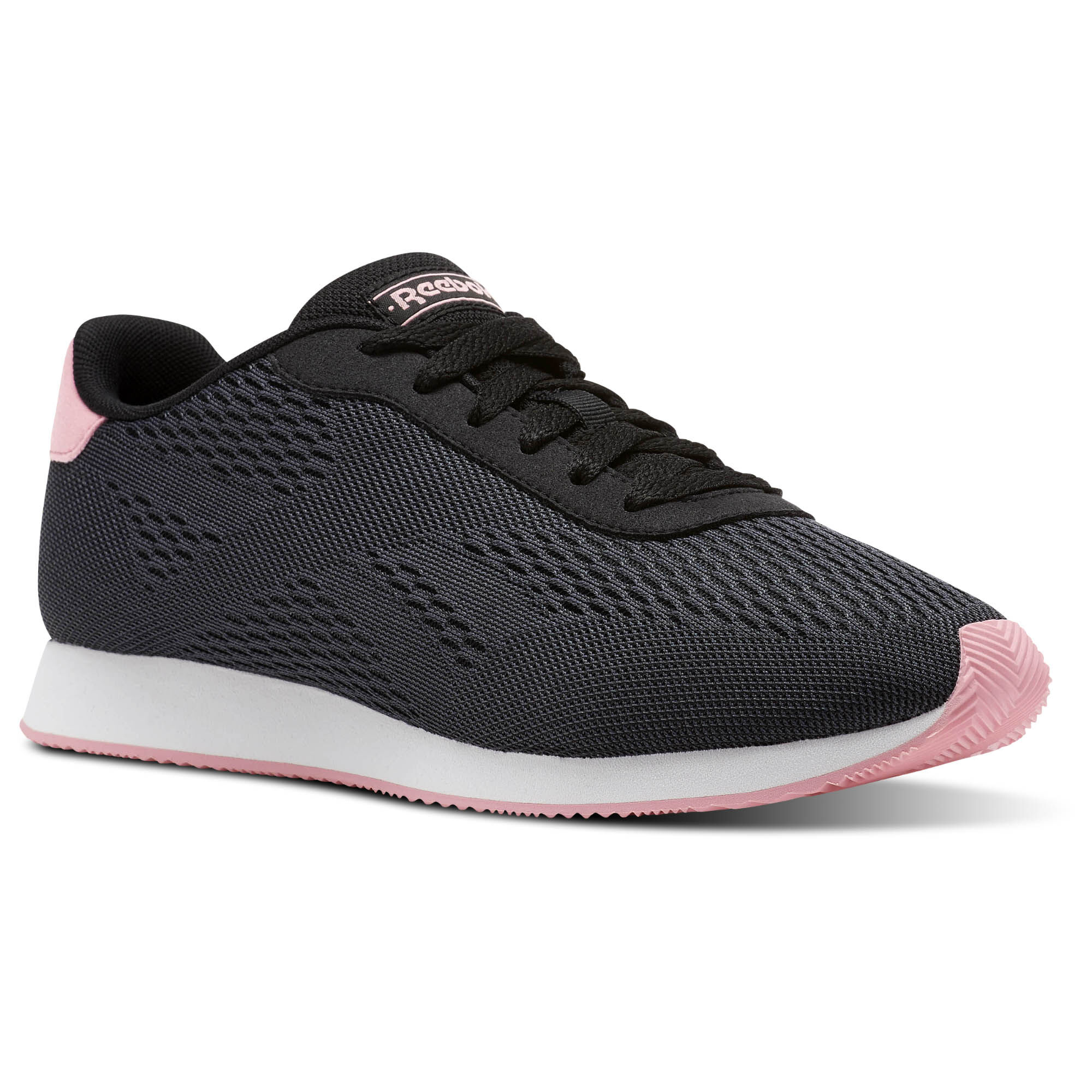 Reebok - REEBOK ROYAL CL JOG 2PX Black/Ash Grey/Squad Pink/White